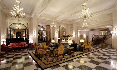 Le Plaza hotel in Brussels