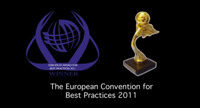 "La Convención ""European Awards for Best Practices 2011"" en Bruselas."