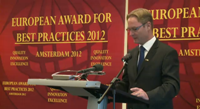"Drallim Industries (Reino Unido) recibió el premio ""European Award for Best Practices 2012"" en Ámsterdam."