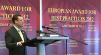 Fragments from R. Gibson's speech at the ESQR's European Award for Best Practices 2012 Convention in Amsterdam.