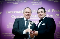 Bedford College (the United Kingdom) received ESQR's International Diamond Prize for Customer Satisfaction in Rome.