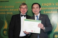 "Yamato Holdings  из Японии получил награду ""ESQR's Quality Achievements Award 2013"" от ESQR в Лондоне."