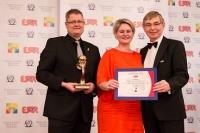 "MindZet A/S из Дании получил награду ""European Award for Best Practices 2013""  от ESQR (European Society for Quality Research) на конвенции в Вене (Австрия) 8 декабря 2013 года."