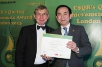 Yamato Holdings from Japan received ESQR's Quality Achievements Award 2013 from the European Society for Quality Research in London, the United Kingdom.