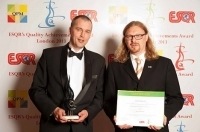 Plantagon from Sweden received ESQR's Quality Achievements Award 2013 from the European Society for Quality Research in London, the United Kingdom.