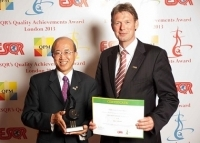Kikkoman Corporation from Japan received ESQR's Quality Achievements Award 2013 from the European Society for Quality Research in London, the United Kingdom.