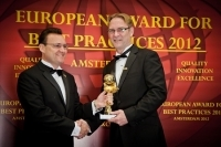 "Drallim Industries (Великобритания) получил награду ""European Award for Best Practices 2012"" от ESQR (European Society for Quality Research) в Амстердаме, Голландия."