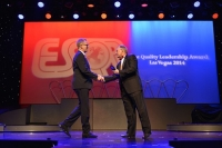 "Конвенция и премия ""ESQR's Best Quality Leadership Award 2014"" в Лас Вегасе (США)"