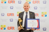 "RTR - Rete Rinnovabile из Италии получил награду ""European Award for Best Practices 2013""  от ESQR в Вене (Австрия)."