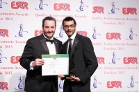 Konica Minolta from Japan received the ESQR's Quality Achievements Award 2015 from the European Society for Quality Research (ESQR) at its Convention in London (the UK) on June 14, 2015.