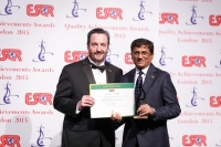 State Bank of India de la India recibió el premio ESQR's Quality Achievements Award 2015 de la ESQR (European Society for Quality Research) en la Convención en Londres (el Reino Unido) el 14 de junio del 2015.