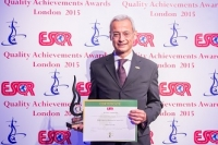Intesa Sanpaolo from Italy received the ESQR's Quality Achievements Award 2015 from the European Society for Quality Research (ESQR) at its Convention in London (the UK) on June 14, 2015.