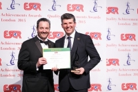 Credito Emiliano из Италии получил награду ESQR's Quality Achievements Award 2015 от ESQR (European Society for Quality Research) на конвенции в Лондоне (Великобритания) 14 июня 2015 года.