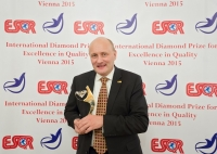 RECIPHARM AB from Sweden received the International Diamond Prize for Excellence in Quality 2015 from the European Society for Quality Research (ESQR) at its international convention in Vienna (Austria) on December 9, 2015.