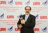 The Ministry of Culture and Tourism of Bolivia received the International Diamond Prize for Excellence in Quality 2015 from the European Society for Quality Research (ESQR) at its international convention in Vienna (Austria) on December 9, 2015.