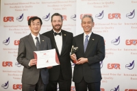 Sumco Corporation from Japan received the International Diamond Prize for Excellence in Quality 2015 from the European Society for Quality Research (ESQR) at its international convention in Vienna (Austria) on December 9, 2015.