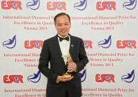 Sky Greens Pte Ltd. from Singapore received the International Diamond Prize for Excellence in Quality 2015 from the European Society for Quality Research (ESQR) at its international convention in Vienna (Austria) on December 9, 2015.