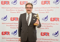 Sanden Holdings Corporation from Japan received the International Diamond Prize for Excellence in Quality 2015 from the European Society for Quality Research (ESQR) at its international convention in Vienna (Austria) on December 9, 2015.