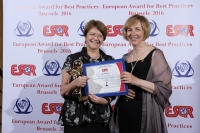 Aalto University de Finlandia recibió el premio European Award for Best Practices 2016 de la ESQR (European Society for Quality Research) en la Convención en Bruselas (Bélgica), el 04 de junio del 2016.