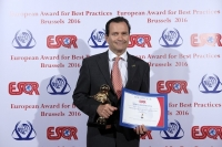 Döbling Private Hospital from Austria received the European Award for Best Practices 2016 from the European Society for Quality Research (ESQR) at its convention in Brussels (Belgium) on June 4, 2016.