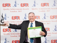 Takeda Pharmaceuticals из Японии получил награду ESQR's Quality Achievements Award 2017 от ESQR (European Society for Quality Research) на конвенции в Лондоне,  4 июня 2017 года.
