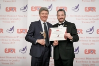 Centro Diagnostico Italiano (Italy) received the ESQR's International Diamond Prize for Excellence in Quality 2017 from the European Society for Quality Research (ESQR), at its Convention in Vienna (Austria), on December 9, 2017.