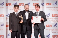 Ricoh Company Limited from Japan received the ESQR's International Diamond Prize for Excellence in Quality 2019 in Vienna, on December 9, 2019.