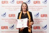 Solvatten AB de Suecia recibió el premio International Diamond Prize for Excellence in Quality 2019 de la ESQR en la Convención en Viena, el 9 de diciembre del 2019.