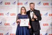 University of Gastronomic Sciences from Italy received the ESQR's International Diamond Prize for Excellence in Quality 2019 in Vienna, on December 9, 2019.