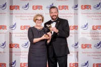 Janssen Pharmaceutica from Belgium received the ESQR's International Diamond Prize for Excellence in Quality 2019 in Vienna, on December 9, 2019.